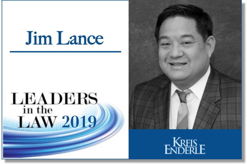 Jim Lance Michigan Lawyers Weekly