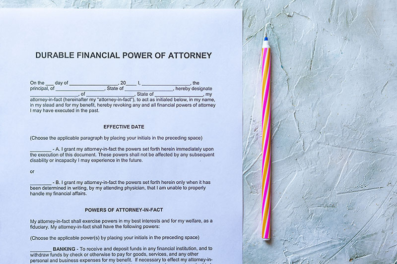 michigan financial power of attorney