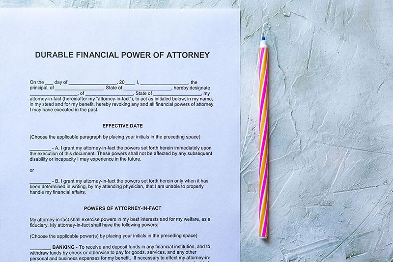 michigan financial power of attorney